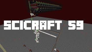 SciCraft 59: 18000 Blocks Per Second Travel With Enderpearls
