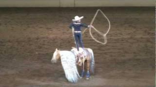 Tomas Garcilazo - Charro Tradicional - Night of the Horse 2011 thumbnail