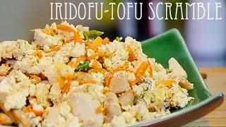 Iridofu-japanese Scrambled Tofu Dish-(recipe)