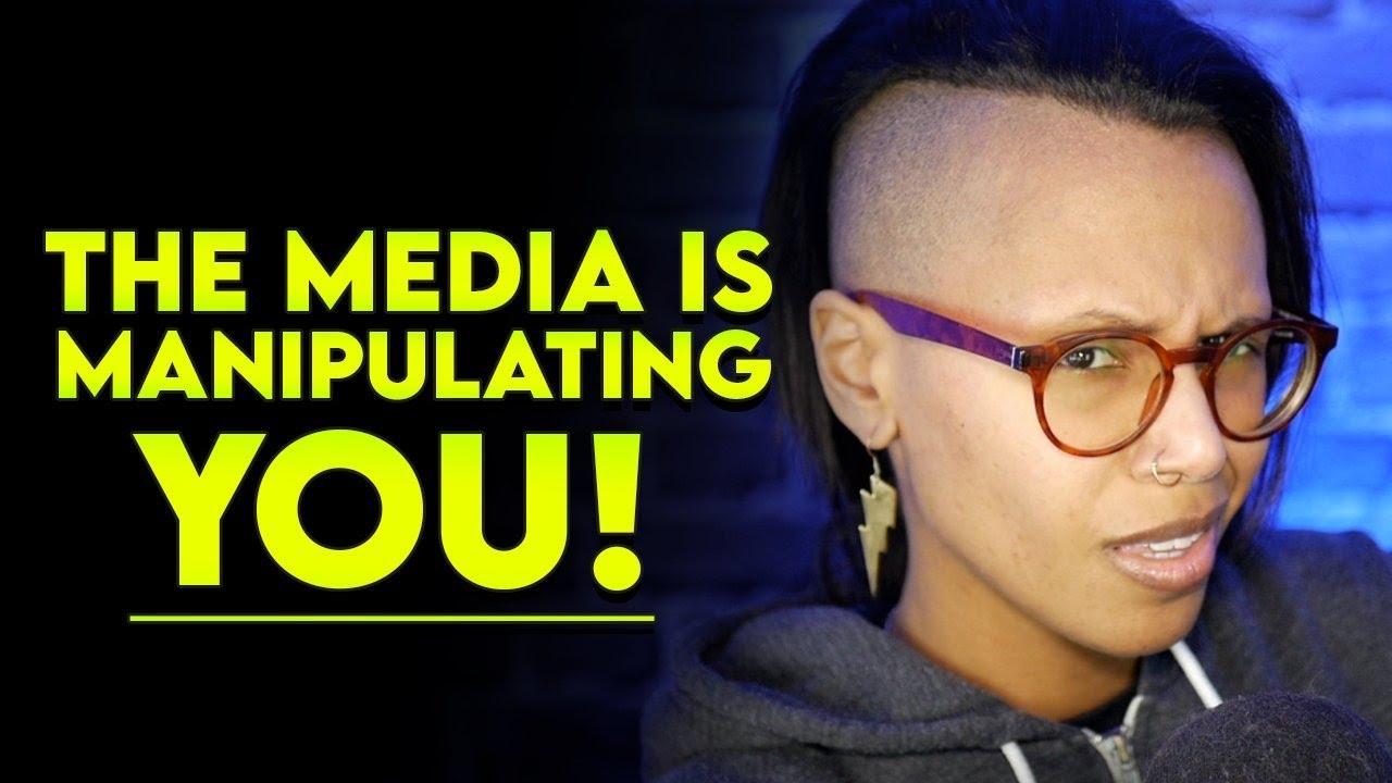 The media is manipulating YOU! #StopAsianHate #BlackLivesMatter
