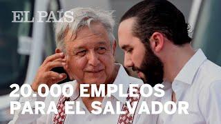 México anuncia una inversión de 30 millones de dólares en El Salvador
