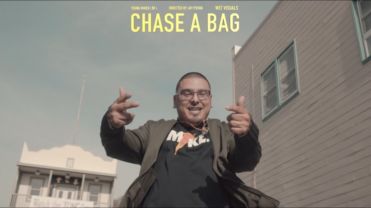 Download Young Mikeo - Chase A Bag   Dir. by @TheRealJayPusha ( One Take Music Video )