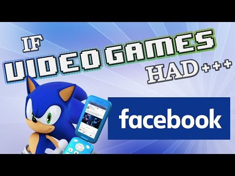 IF VIDEO GAMES HAD FACEBOOK