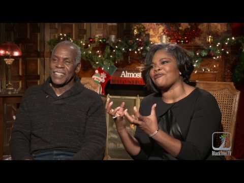 Monique and Danny Glover Interview ALmost Christmas
