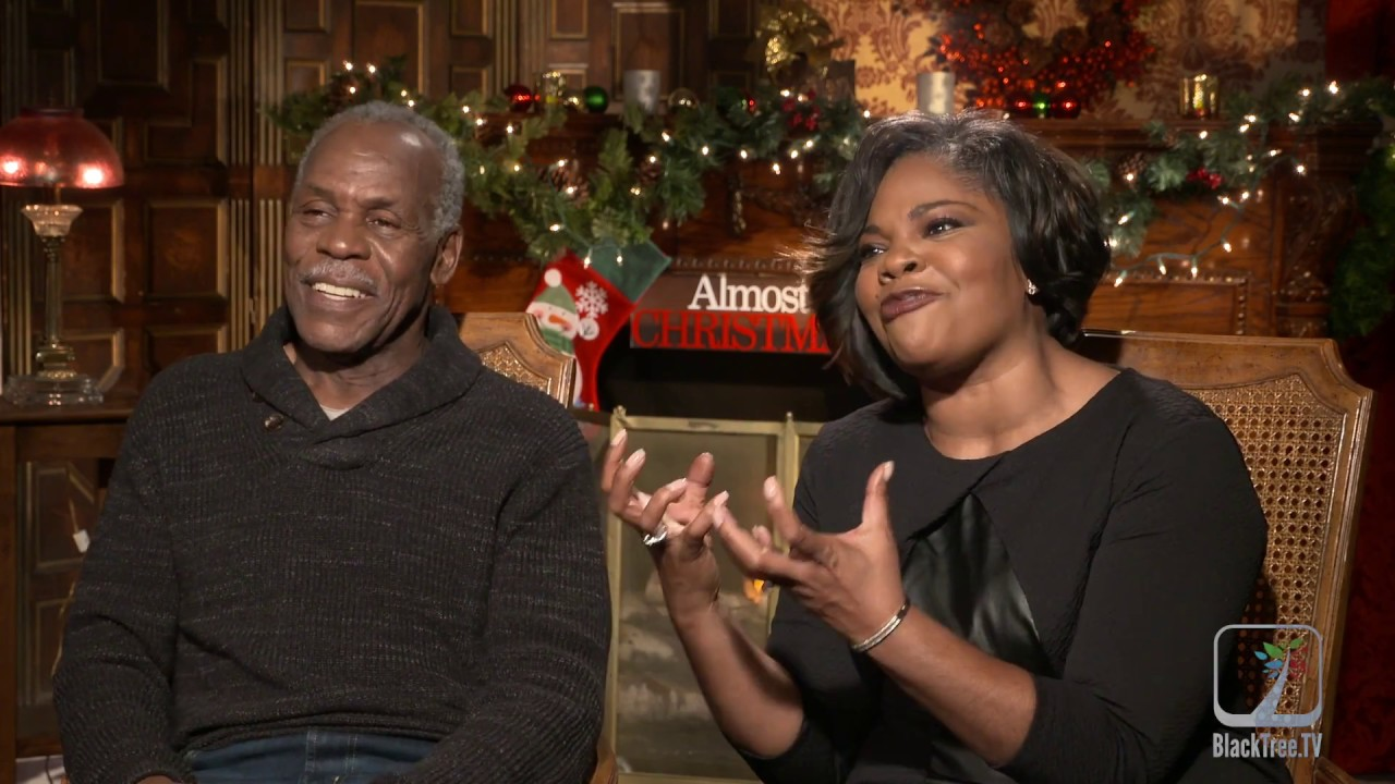 Monique and Danny Glover Interview ALmost Christmas - YouTube