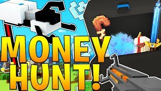 EPIC MODDED ARMOR AND WEAPONS - MINECRAFT LUCKY BLOCK MONEY HUNT