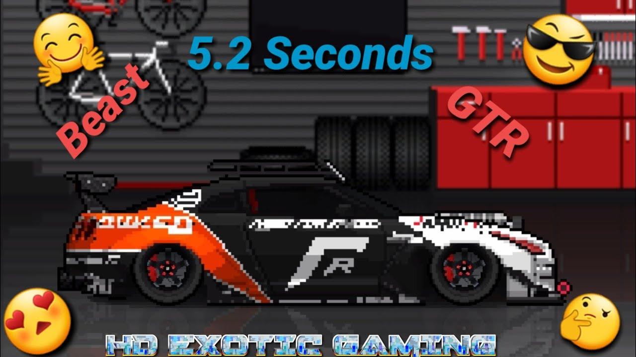 Gtr Fastest Car In Pixel Car Racer Youtube