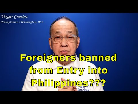 Travel Restriction Update as of Apr 16 2021 [Are Foreigners banned from entry until April 30?]