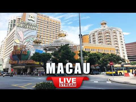 Live Macau walk tour | Beautiful and colorful Macau China live TV 마카오 라이브 澳门直播 澳門直播 Ma Cao Trực tiếp