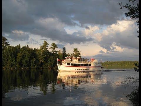 M S Kenora Cruise Boat TRUCKER RUDI 07.08.17 Vlog#1124
