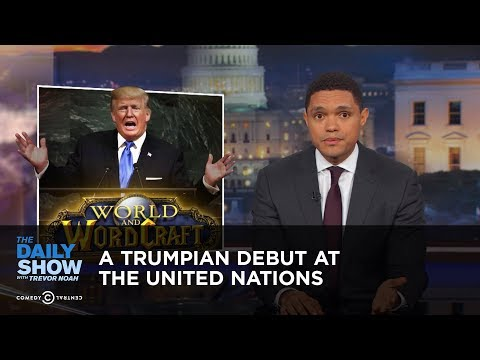 Thumbnail: A Trumpian Debut at the United Nations: The Daily Show