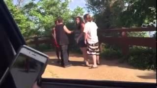 Hood trash vs Trailer trash fight at Belle Isle
