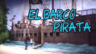 Jandro hace creer a unos niños que están en un barco pirata real