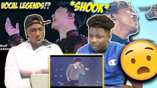 EXO'S AMAZING VOCALS!!! (FUNNY REACTION)