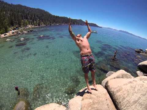 Backflip At Chimney Beach Lake Tahoe