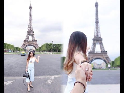 BONJOUR, PARIS!   EUROPE TRIP 2017    UNBOXING HERMES & CHANEL   TRAVEL VLOG #4   #meitravelingdiary