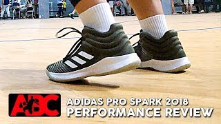 Adidas Pro Spark 2018 - Performance Review
