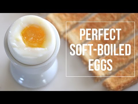 Perfect Soft-Boiled Egg | cathydiep