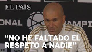 ZIDANE, entrenador del REAL MADRID: