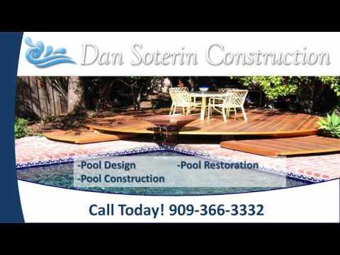 Dan Soterin Construction | Redlands CA Swimming Pool Contractors