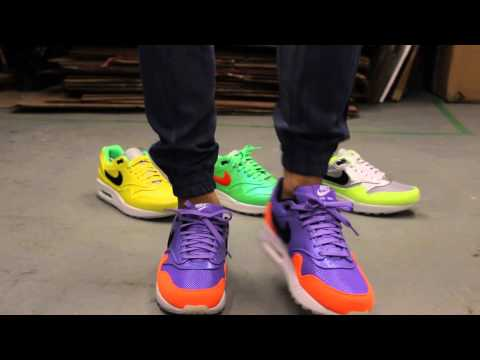 34f5e6e018 Nike Air Max 1 FB Premium QS Mercurial Pack - Violet - On-feet Video at  Exclucity - YouTube