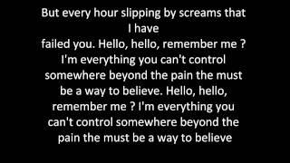Evanescence - What you want (Lyrics)
