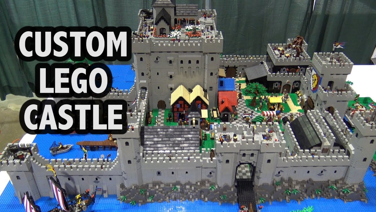 Amazing Lego Castle With Removable Floors Youtube