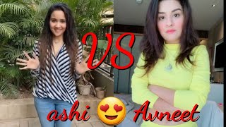 Who is the most gorgeous 😍 || Ashi singh VS Avneet kaur ||Present By Sraboni Entertainment