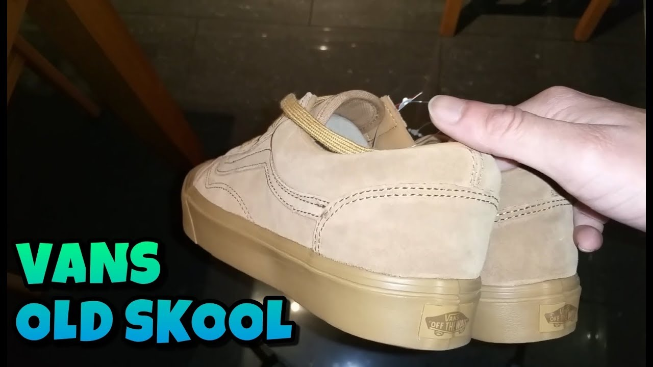 a55579b467 Vans Old Skool Light Gum Unboxing And Review - YouTube