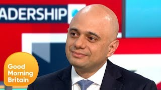 Sajid Javid Pledges to Put 20,000 More Police on the Street if He Becomes PM | Good Morning Britain
