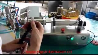 Mesin Pengisian Minyak dan Cairan Semi Otomatis