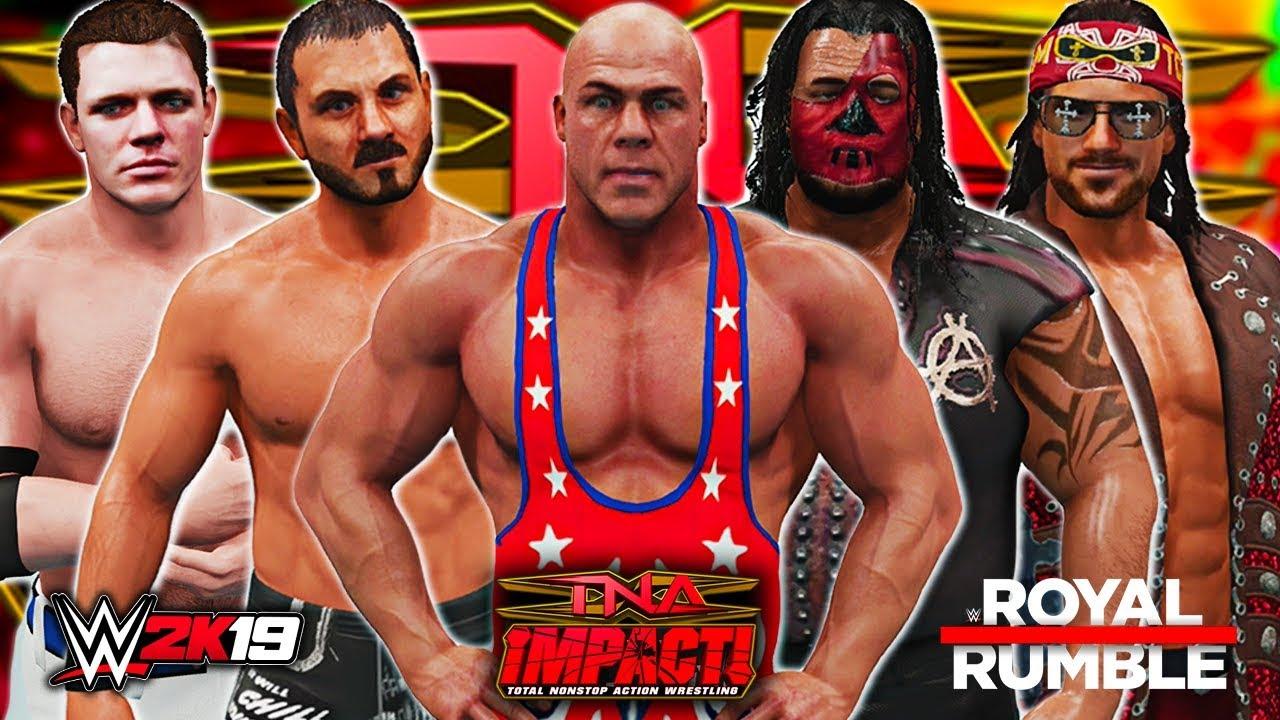 WWE 2K19 - 30 MAN TNA IMPACT ROYAL RUMBLE!! - Wrestling Blog