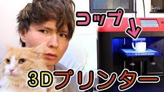 3Dプリンターで顔付きマグカップ作った!!飲めるか? PDS