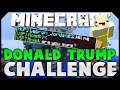 THE DONALD TRUMP CHALLENGE! ( Hypixel Skywars )