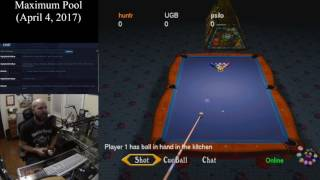 Maximum Pool (April 4, 2017) Sega Dreamcast Online Multiplayer [w/ Commentary]