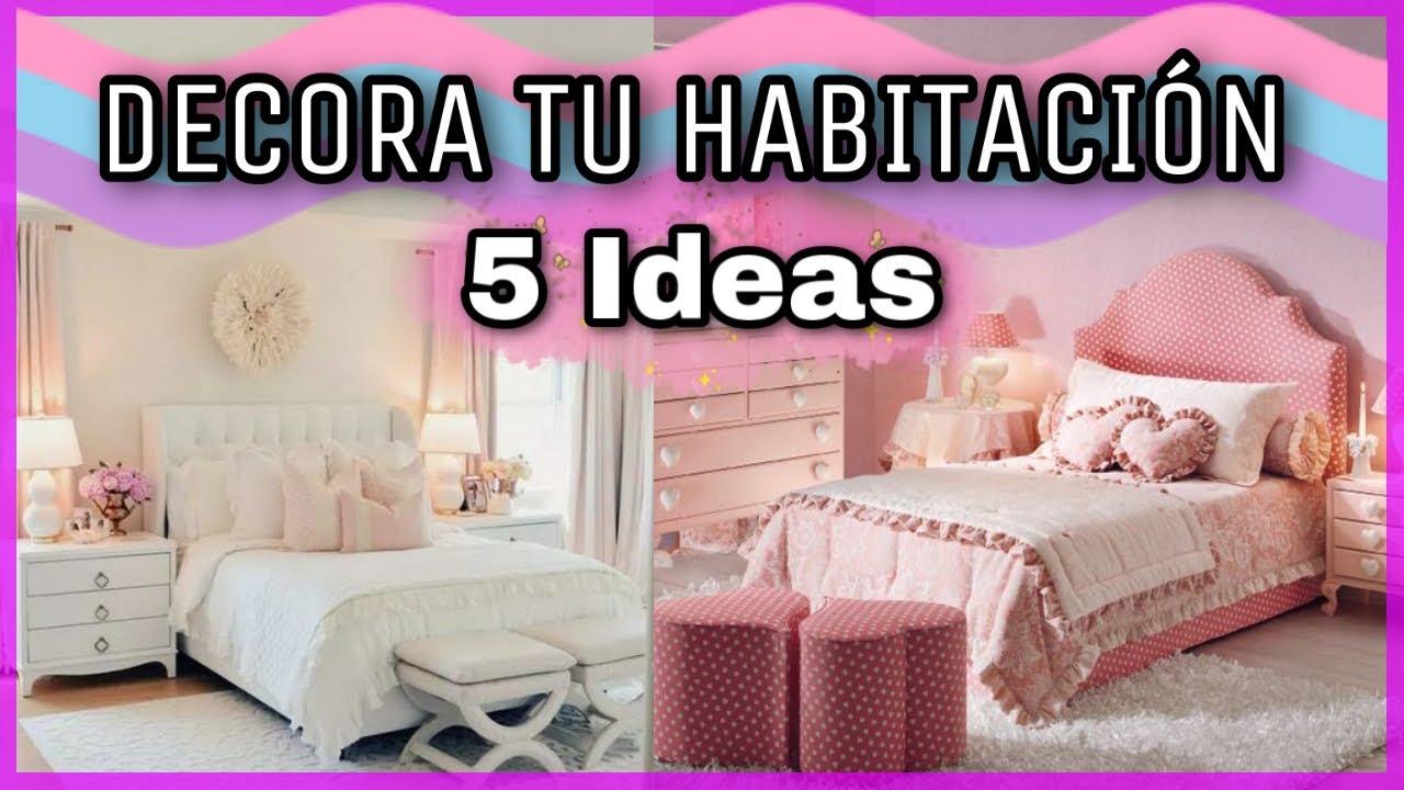 5 MANUALIDADES PARA DECORAR TU HABITACIÓN | DECORA TU ... on Room Decor Manualidades Para Decorar Tu Cuarto id=59800