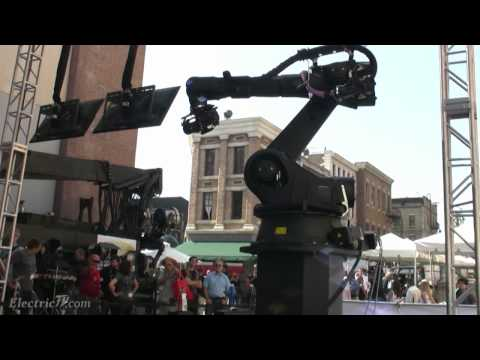 Bot & Dolly's Iris, World's most advanced Robotic motion control camera system