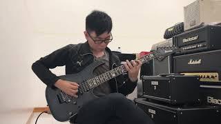 Ibanez J Custom RG8570Z in Black Rutile demo!!