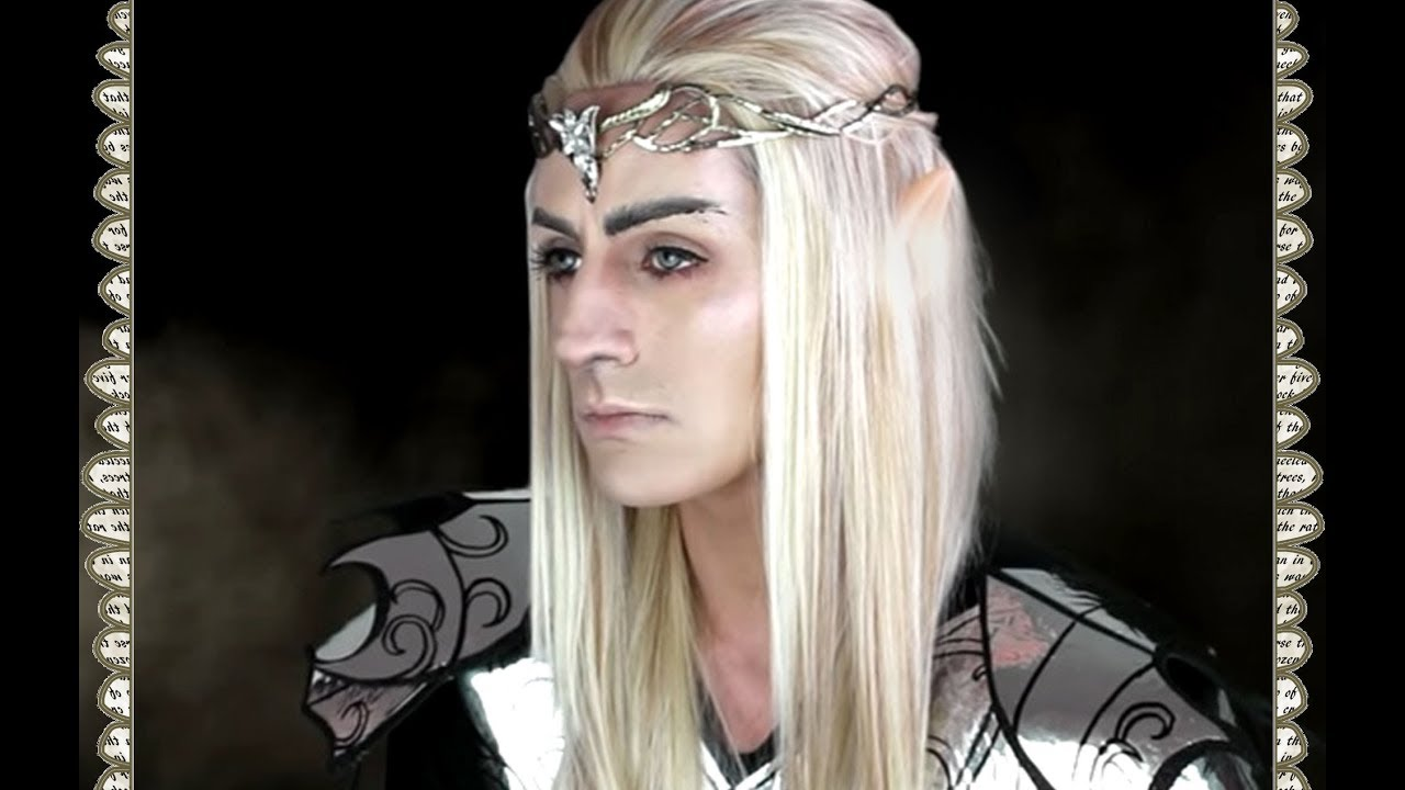 King Elf Makeup Rey Elfo The Hobbit Thranduil Makeup Tutorial Sfx - Maquillaje-elfo