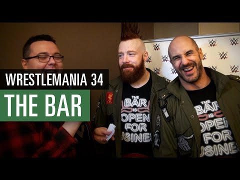 The Bar: Sheamus & Cesaro - Funny Interview with the WWE Superstars / WWE 2K18