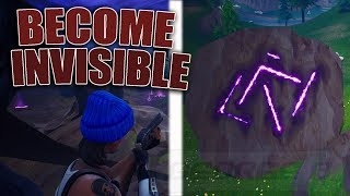 «NEW EASY» Devenir invisible à l'aide de ce glitch à Fortnite Wallbreach dans Rune Rock Glitch