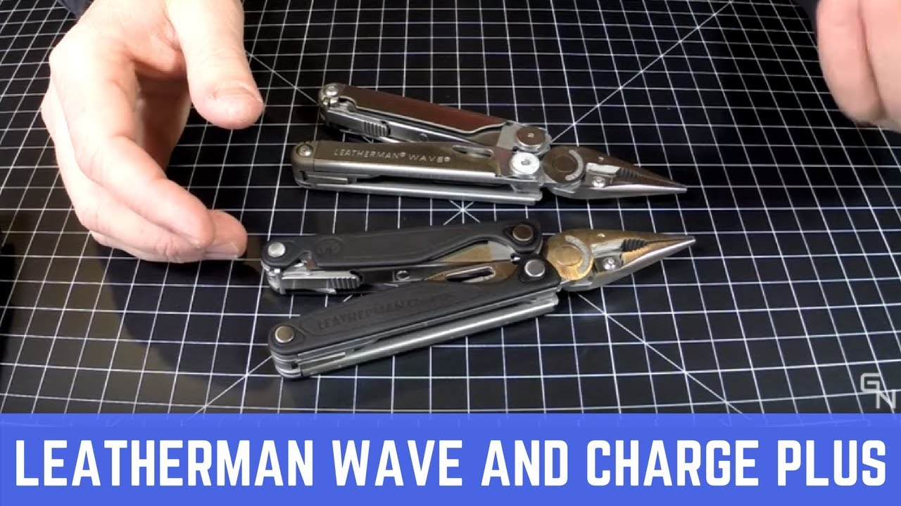 Leatherman Wave Plus And Leatherman Charge Plus Review Youtube