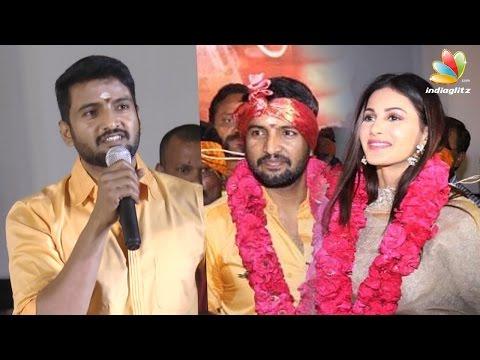 Santhanam - Amyra Dastur Next Movie : Odi Odi Uzhaikkanum Launch Pooja   Latest Speech