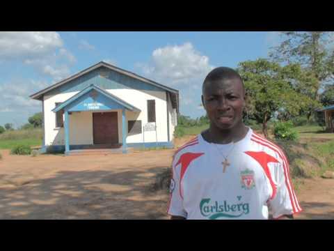 Sierra Leone Micheal Jamiru - Pendembu describing the history of this part of town 2009
