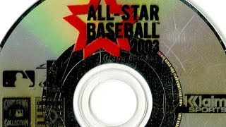 CGR Undertow - ALL-STAR BASEBALL 2003 review for Nintendo GameCube