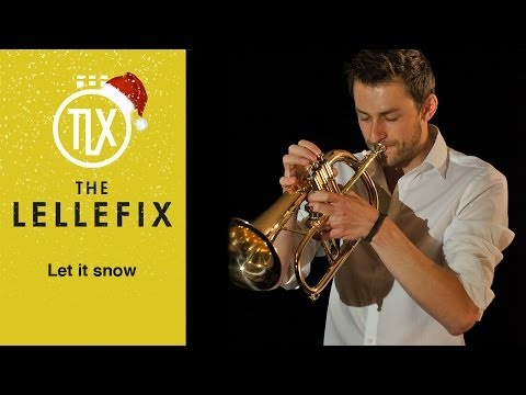 Christmas special - Let it snow - Trumpet cover (Flugelhorn and surprise)