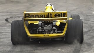 Renault RS01 F1 V6 Turbo Sound - The First Turbocharged F1 In Action at Goodwood FoS!
