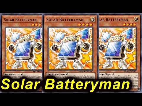 YGOPRO】SOLAR BATTERYMAN DECK 2018 - Познавательные и прикольные