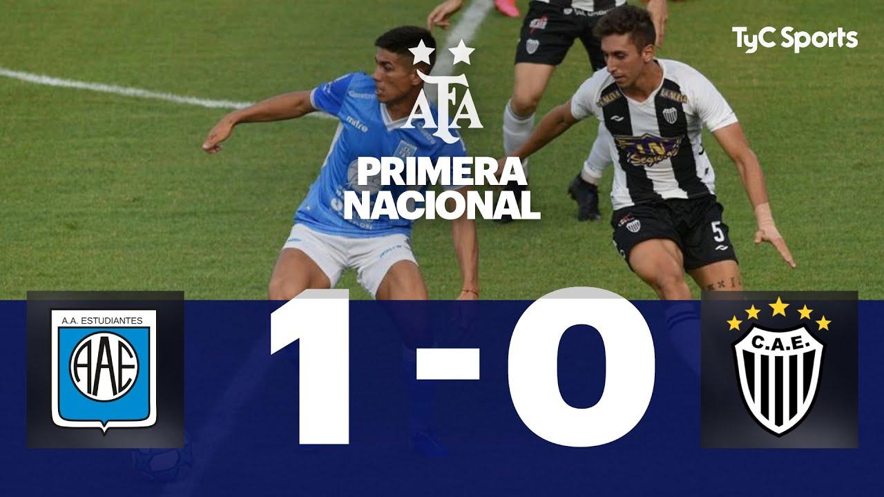 Estudiantes (RC) 1-0 Estudiantes (BA) | Primera Nacional
