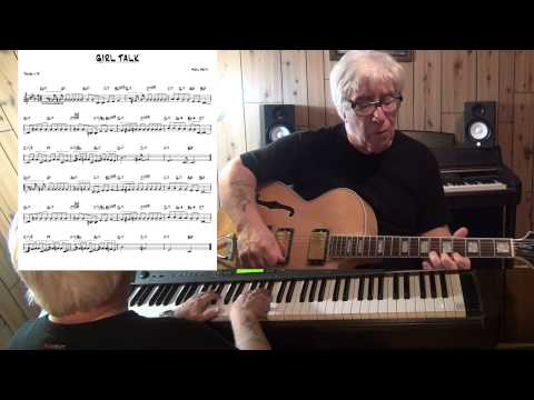 GIRL TALK (2) - Jazz guitar & piano cover ( Neal Hefti ) Yvan Jacques